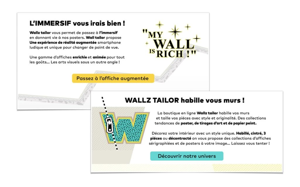 visuel call to action